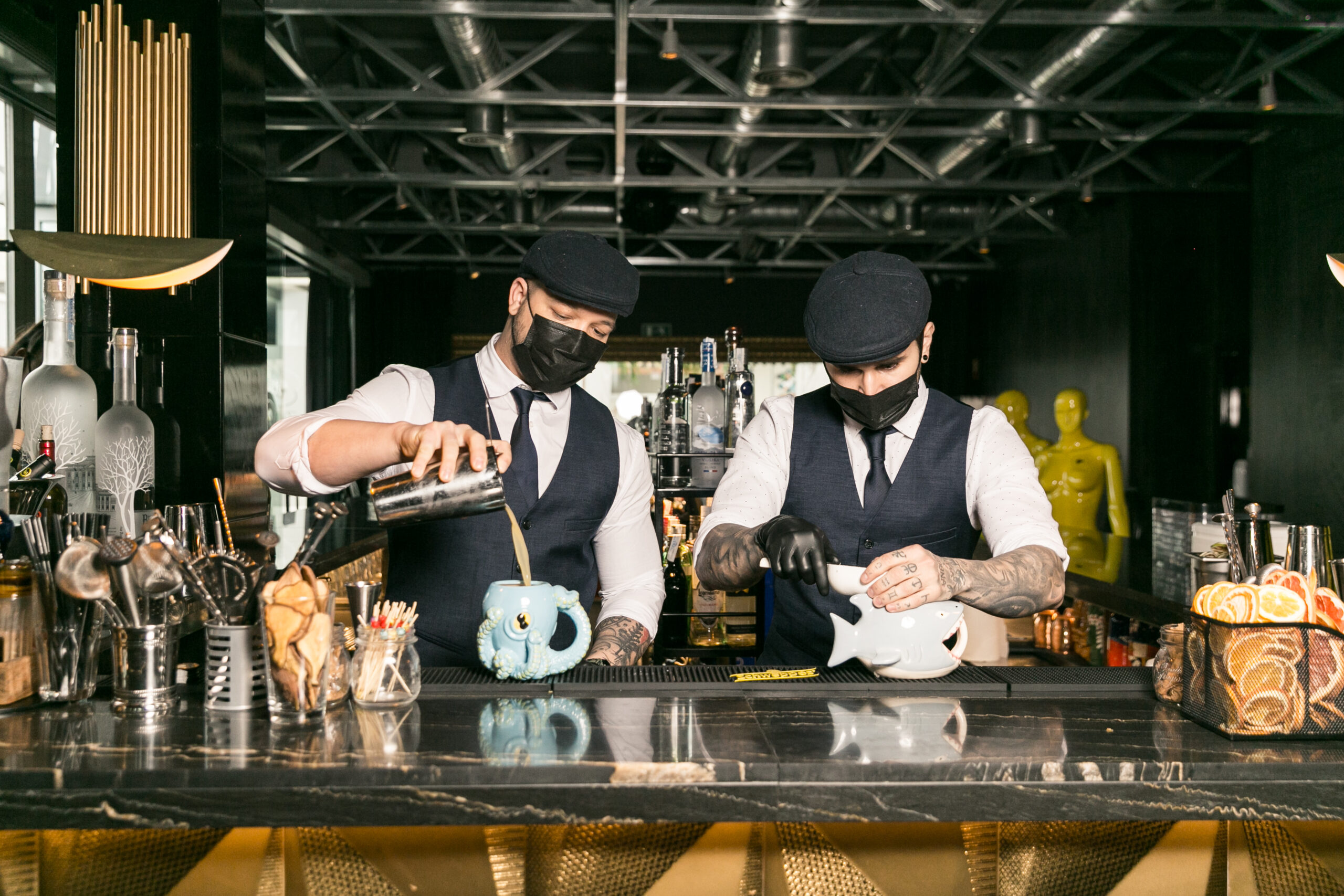 Get a surprise from our bartenders Johnat&John' s and their boldest and most unique cocktails